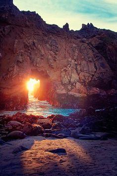 Big Sur. Phifer Beach. Been there. My favorite U.S. beach. Magestic!!!!