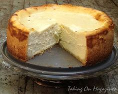 Lindy's Cheesecake via Taking On Magazines: Lindy's Cheesecake via Taking On Magazines