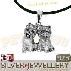 Westie silver pendant jewelry