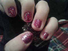 Fuscia with Jewel Fx sparkles