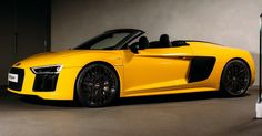 All-New Audi R8 V10 Spyder Makes UK Debut, First Deliveries Expected Late 2016 #Audi #Audi_R8