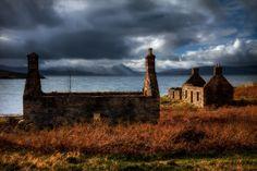 Coillegillie ruins, Applecross Peninsula, North West Scottish Highlands.