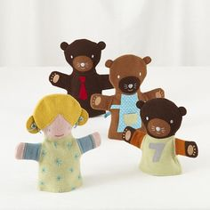 Once Upon a Hand Puppet Set    The Land of Nod