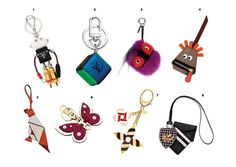 Shop These Designer Keychains Bag Charms From Dior Prada More
