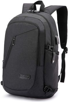Laptop Backpack,Business Travel Anti Theft Backpack Gift for Men Women with USB Charging Port Lock,Slim Durable Water Resistant College School Bookbag Computer Bag Fits Inch Laptop Notebook Best Laptop Backpack, Laptop Rucksack, Computer Backpack, Computer Bags, Travel Backpack, Laptop Bag, Backpack Bags, Macbook Laptop, Notebook Rucksack
