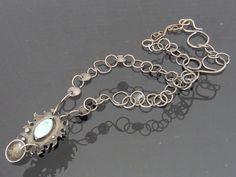 Vintage Native American Sterling Silver Green by wandajewelry2013