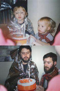Then/Now Fotografieserie