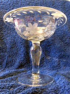 Rare American Brilliant Period Victorian Compote by LootByLouise, $75.00