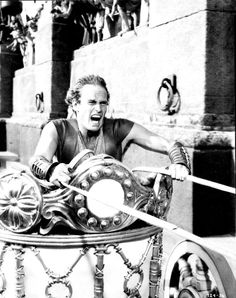 Charlton Heston in 'Ben-Hur', 1959.