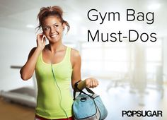 5 Gym-Bag Rules That Will Make Life Easier