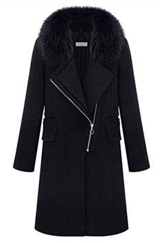 BESTSELLER! Pink Wind Women Winter Fur Collar Ove... $69.99