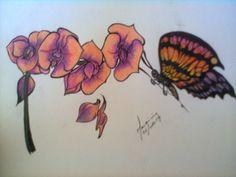 A Orquidea e a Borboleta