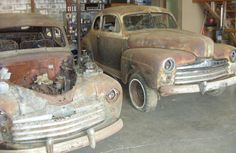 For Sending Us This Great Pair Of Barn Find Fords Sale On Craigslist In McMinnville Oregon These Two Fine Looking Club Coupes One A 1947 And The