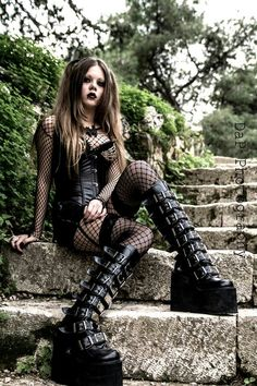 Girls Of The Goth Subculture