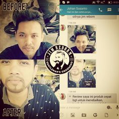 Thanks to Bro Johan for testimony ✯ JIM REBORN ✯ BEARD OIL #JimReborn #Gentlemans # Grooming #cambang #jenggot #kumis