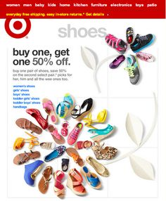 From the latest Target email - shoes