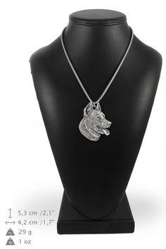 NEW Bullterrier dog necklace silver cord 925 by ArtDogshopcenter Dog Necklace, Silver Chain Necklace, Silver Necklaces, Charles Spaniel, Cavalier King Charles, Shih Tzu, Dachshund, Polish Lowland Sheepdog, Bichon Dog