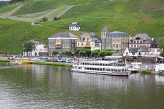 Bernkastel-Hues along the Moselle River in Germany