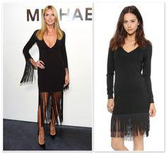 Fab from the Lab | Discovered Weekly « Mom Style Lab #fringedress #NYFW #HeidiKlum #HauteHippie