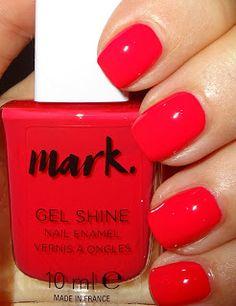 Wendy's Delights: Avon 'Mark' Gel Shine Nail Polish - Fabulous @avonuk #avoncosmetics #avonnailpolish #avongelshine #rednails