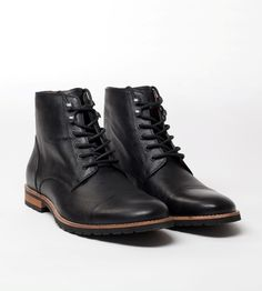 Amsterdam Shoe Co. Cap toe boot