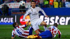 .@Cristiano ficou zerado no jogo de ida. Será que ele decide na volta? @realmadrid x @Atleti é no EI!