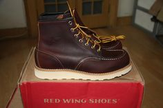 Red Wing 8138 - briar oil slick leather -