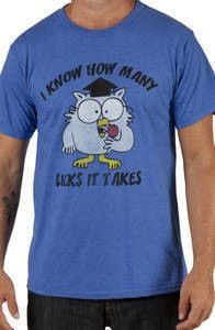 How Many Licks Tootsie Pop Shirt