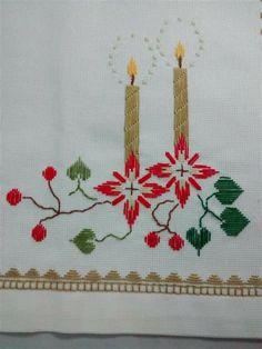 Basic Embroidery Stitches, Hardanger Embroidery, Embroidery Patterns, Hand Embroidery, Stitch Patterns, Back Stitch, Cross Stitch, Swedish Weaving, Christmas Cross