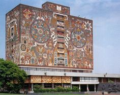 Biblioteca Central de Ciudad Universitaria de la UNAM - Juan O´Gorman