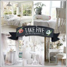 Take 5:  Wonderful White Decor