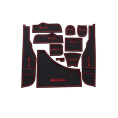 For Mercedes-Benz 2013-2015 GLA 200 220 260 anti slip mat Door Groove Mat gate slot pad door carpets  with logo