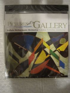 Buffalo Philharmonic Orchestra CD: Pictures At A Gallery