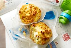 Savoury muffins make perfect school lunches or a great after-school snack.