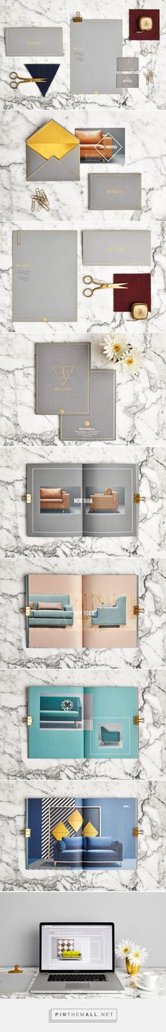 Missana Upholstery Company Branding by Masquespacio | Fivestar Branding Agency – Design and Branding Agency & Curated Inspiration Gallery