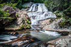 Dick's Creek Fall in Rabun County by Brian Kreuser.