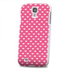 Amazon.com: pureCase (TM) Galaxy S4 Pink Case For Samsung Galaxy S4 Hard Cover With Sweet Hearts Love Desing SIV S IV SIIII I9500 SC1H Pink Cover: Cell Phones & Accessories