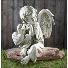 Amazing of Angel Garden Decor Angel Garden Angels For The Garden Home Memorial Angel Statues - Garden designing is as long as a type of self-expression as