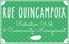 Rue Quincampoix, entreprise spécialisée en rédaction Web et en Community Management.  #rédactionweb #communitymanagement