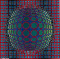 Syry - (Victor Vasarely)
