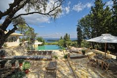 Kipseli House, Corfu, Greece - Ya, anyone want to lend me $18K to rent this place for a week. It looks absolutely divine!