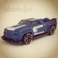 "Power Muscle (blue) - 2017 Hot Wheels ""Digital Circuit"" #hotwheels | #diecast | #toycars | #hwp2017ml"