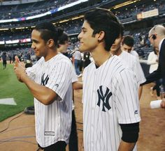 CNCO in Yankee Stadium Brian Colon, Love Of My Life, My Love, Five Guys, My Everything, All About Time, Handsome, Boys, Yankee Stadium