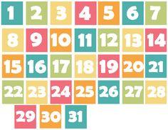 8 Best Images of Printable Spring Calendar Numbers - Free Printable Classroom Calendar Numbers, Free Printable Calendar Numbers and Free Printable Calendar Pocket Chart Cards Preschool Calendar, Classroom Calendar, Kindergarten Classroom Decor, Kindergarten Anchor Charts, Printable Numbers, Free Printable Calendar, Summer Bulletin Boards, Calendar Numbers, Flashcards For Kids