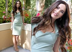 Megan Fox in Roland Mouret | 'This Is 40' Beverly Hills Photocall