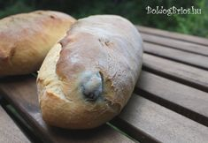 Olivabogyós kenyés Bread, Food, Essen, Buns, Yemek, Breads, Sandwich Loaf, Eten, Meals