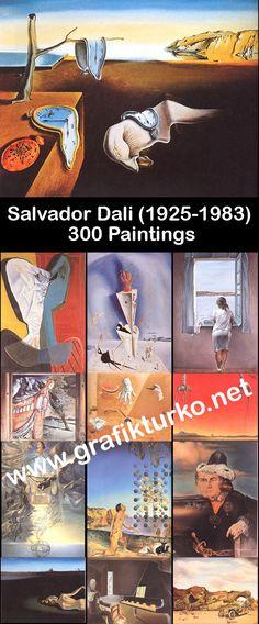 Salvador Dali (1925-1983) 300 Paintings