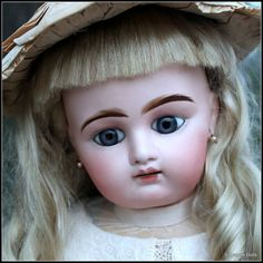 "FINAL REDUCTION~Large 31"" French Bebe on Gesland Body from signaturedolls on Ruby Lane"