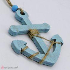 Γαλάζια ξύλινη άγκυρα Symbols, Letters, Letter, Lettering, Glyphs, Calligraphy, Icons