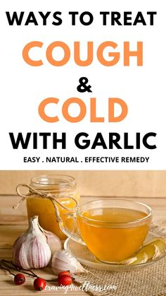 Garlic has amazing anti-viral, anti-bacterial & anti-biotic properties which helps to treat cough, cold & flu, here is an simple way to treat cough & cold at home using garlic plus its other health benefits#homeremediesforcough&cold#garlic#garlicbenefits#immunitybooster Natural Cough Remedies, Herbal Remedies, How To Treat Cough, Garlic Health Benefits, Acupuncture Benefits, Chinese Herbs, Herbal Medicine, Natural Health, Health And Wellness